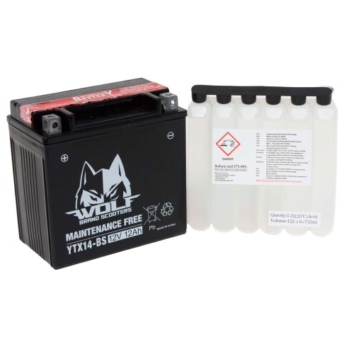 BATTERY - YTX14-BS